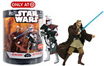 Order 66 (Series 2) (1 of 6) - Obi-Wan Kenobi & ARC Trooper Commander - Hasbro - 30th Anniversary Collection (2008)