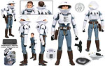 Concept Rebel Trooper (Ralph McQuarrie Signature Series) (30 60) - Hasbro - 30th Anniversary Collection (2007)