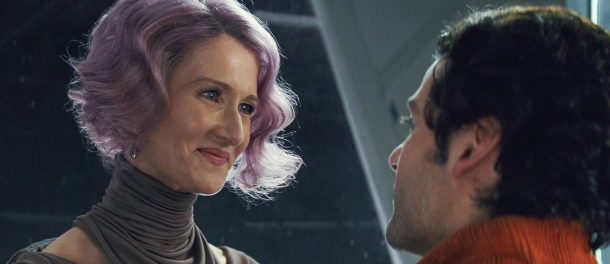 Holdo and Poe Dameron