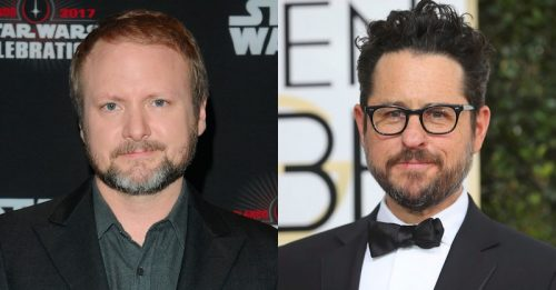 Rian Johnson and J.J. Abrams