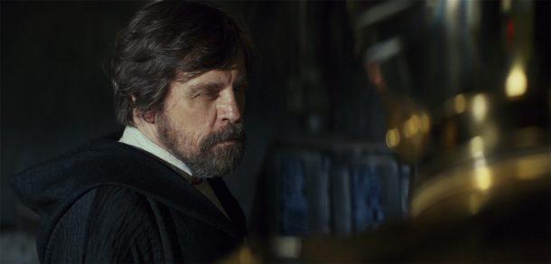 Luke and C-3PO in The Last Jedi
