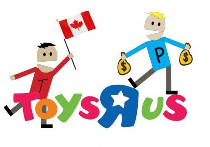 Toys R Us Canada and Terence and Philip