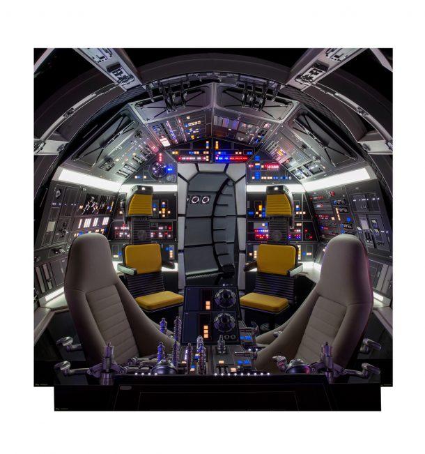 Millennium Falcon Cockpit Interior