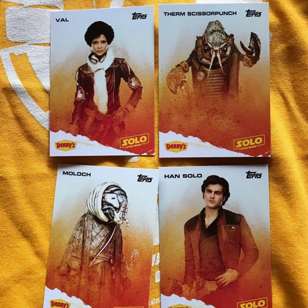 Topps Solo promotional trading cards