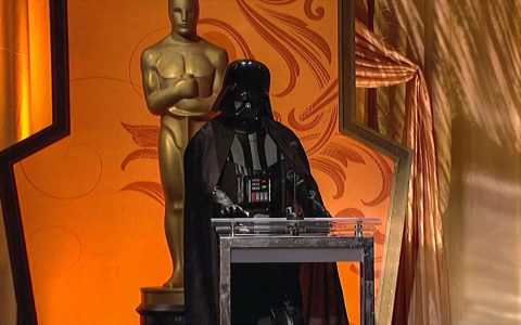 Darth Vader at the Academy Awards