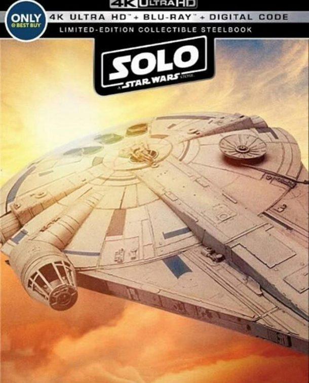 Solo Blu-Ray Steelbook