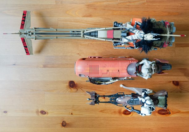 Speeder length comparison