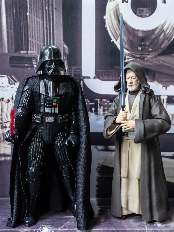 Darth Vader and Obi-Wan