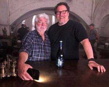 George Lucas and Jon Favreau