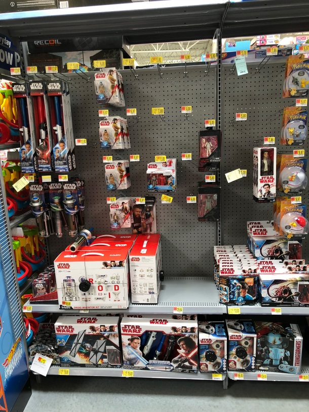 Walmart Star Wars Section