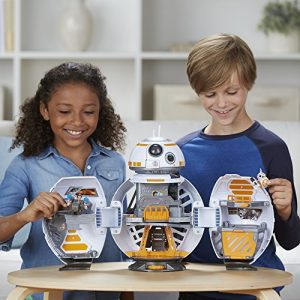 Kids with Star Wars toys