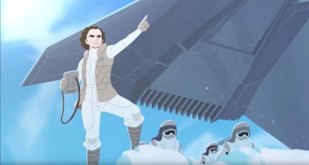 Galaxy of Adventures.: Leia on Hoth