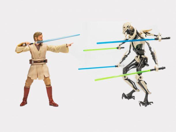 Obi-Wan and Grievous