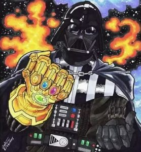 Darth Vader Infinity Gauntlet