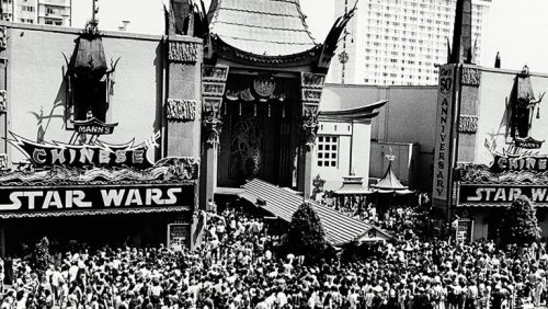 Star Wars fans in 1977