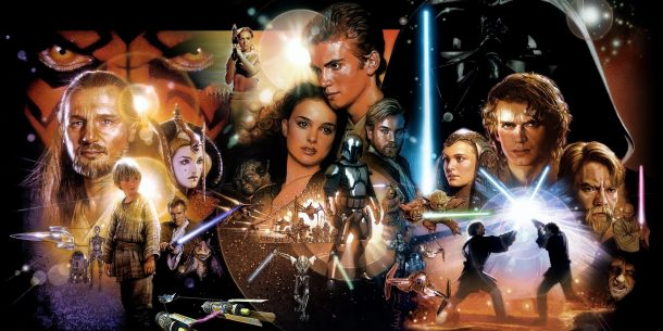 Star Wars Prequels Poster Art