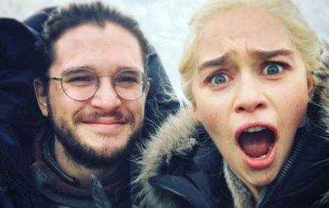 Kit Harrington and Emilia Clarke