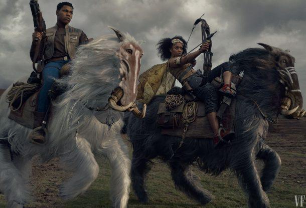 Finn and Jannah, The Rise of Skywalker