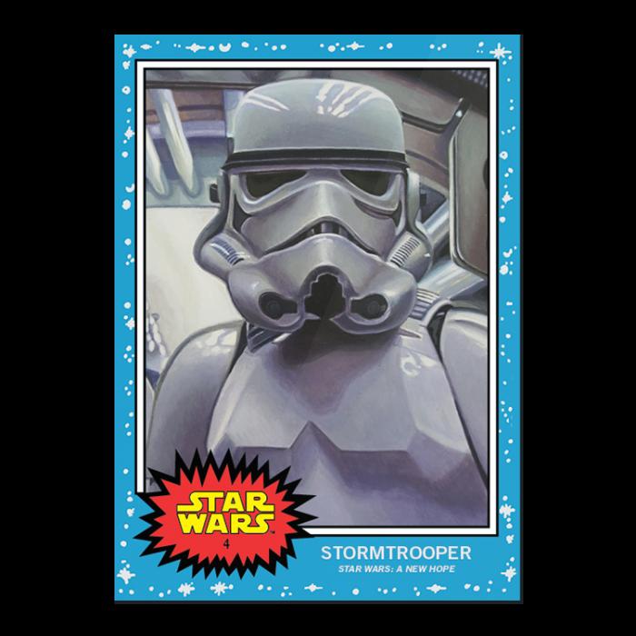 R2 D2 Topps Star War Living Set Card 3 Star Wars Trading Cards Non Sport Trading Cards Star Wars Trading Cards