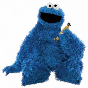 Cookie Monster and Star Wars Action Figure