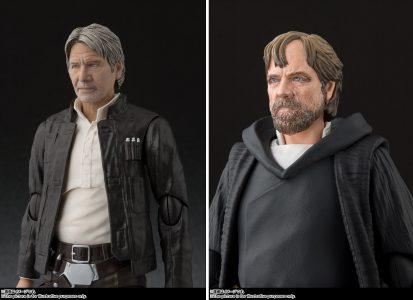 SH Figuarts Han Solo & Luke Skywalker