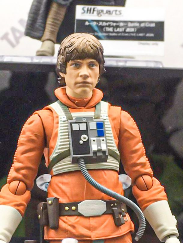 SH Figuarts Luke Skywalker Prototype