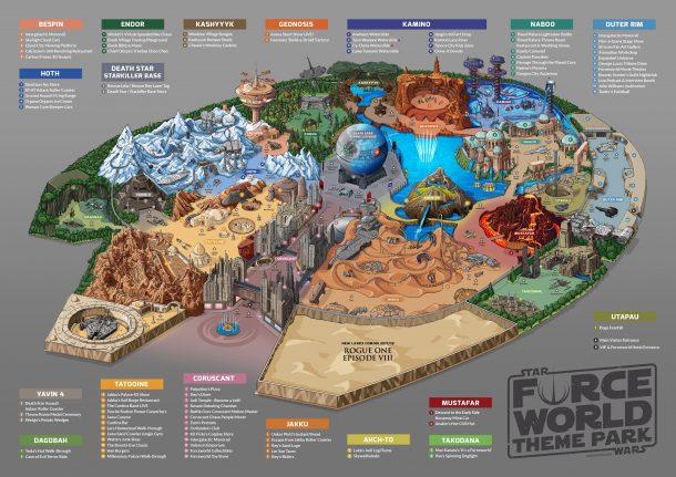 Star Wars Force World Theme Park