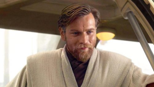 Obi-Wan Kenobi smiling