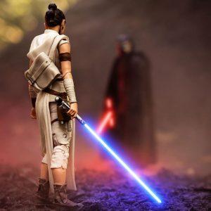 Black Series Rey and Kylo