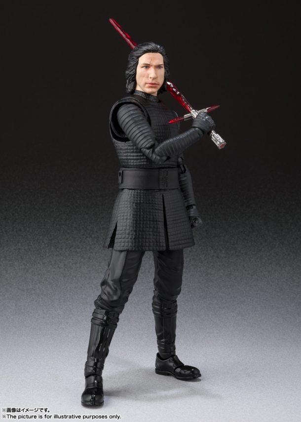 SH Figuarts Rise of Skywalker Kylo Ren