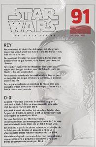 Black Series Rise of Skywalker Rey Box