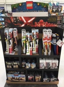 Walmart Rise of Skywalker Endcap