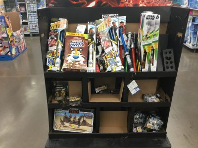 Walmart Triple Force Friday Endcap