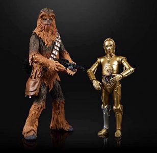 Black Series Chewbacca and C-3PO