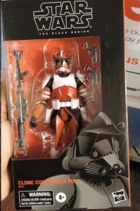 Black Series Clone Commander Fox