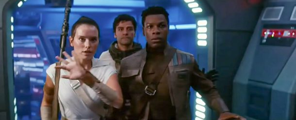 The Rise of Skywalker - Rey, Poe and Finn