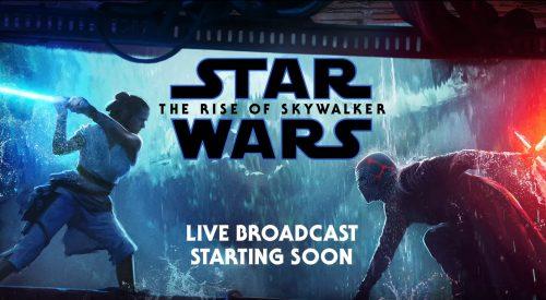 The Rise of Skywalker Q&A Livestream