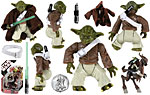 Yoda & Kybuck (30 32) - Hasbro - 30th Anniversary Collection (2007)