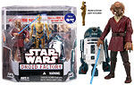 Droid Factory (1 of 6) - Plo Koon & R4-F5 - Hasbro - 30th Anniversary Collection (2008)