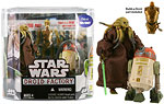 Droid Factory (4 of 6) - Kit Fisto & R4-H5 - Hasbro - 30th Anniversary Collection (2008)
