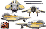Anakin Skywalker's Jedi Starfighter - Hasbro - 30th Anniversary Collection (2008)