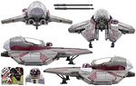 Obi-Wan Kenobi's Jedi Starfighter - Hasbro - 30th Anniversary Collection (2007)