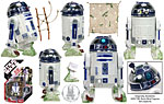 R2-D2 with Cargo Net (30 46) - Hasbro - 30th Anniversary Collection (2007)