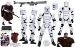 Clone Trooper (Hawkbat Battalion) (30 50) - Hasbro - 30th Anniversary Collection (2007)