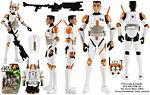 Clone Commander Cody (CW07) - Hasbro - Star Wars [Yoda/Attack of the Clones] (2013)