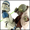 Yoda And Clone Trooper - Premium Format Figures