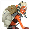 Ahsoka Tano With Rotta (The Clone Wars) - Maquettes