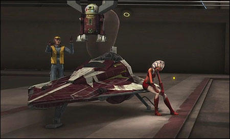Ahsoka Tano's Jedi Starfighter - TCW [R] - Vehicles Research Droids Reviews - JediTempleArchives.com