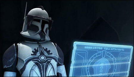 commander fox the clone wars mini busts research droids reviews. Black Bedroom Furniture Sets. Home Design Ideas