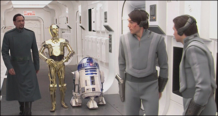Captain Antilles received orders from Senator Bail Organa